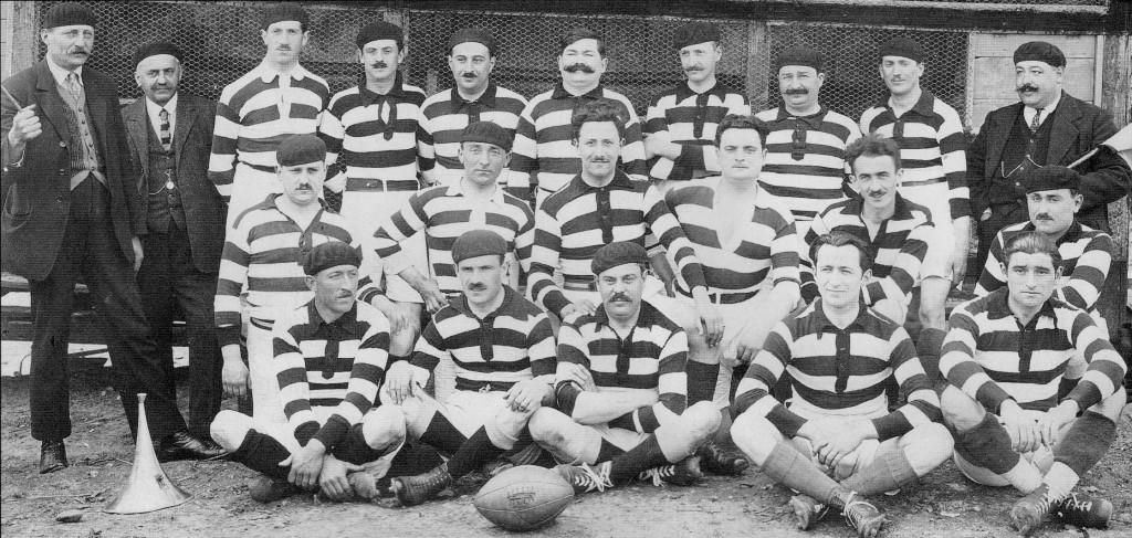 La première équipe du SAH lors de la saison 1919 - 1920