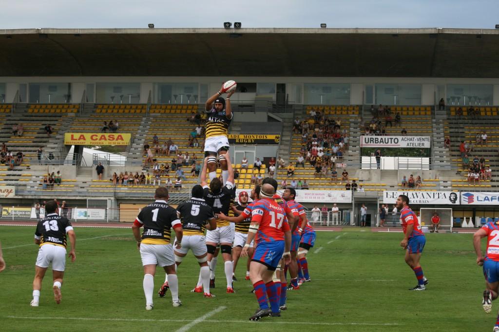 2. Match amical de début de saison face au Stade montois à Guy-Boniface.