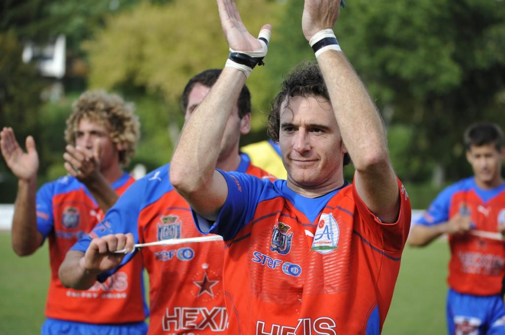 La saison prochaine, Julien Langlade sera entraîneur-joueur à RIon-des-Landes, son club formateur. (Photo Jean-Louis Tastet)