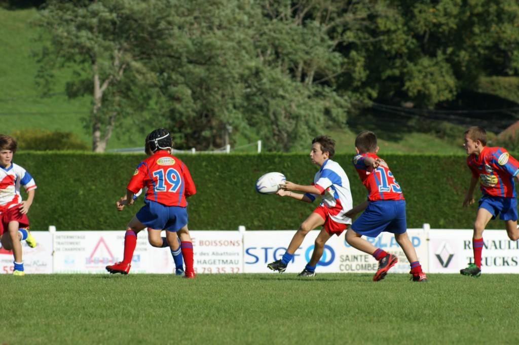 Le Stade Georges-Dumartin accueillera Saint-Sever, Mugron et Aire-Miramont pour un plateau ce samedi.