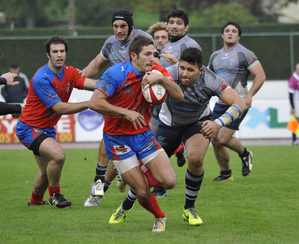 Les Valenciens ont pris leur revanche du match aller où ils avaient été battus 17-16. Photo Jean-Louis Tastet