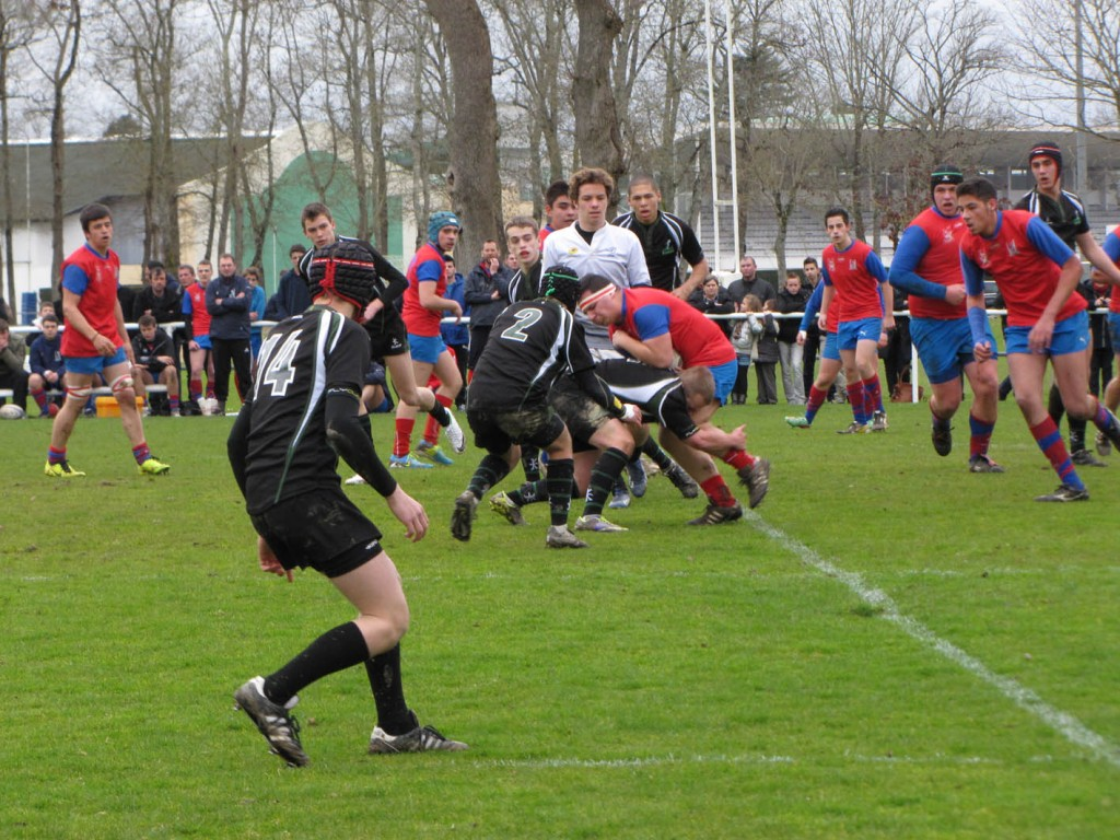Les cadets l'ont emporté 24-12 sur leur pelouse face au Kituro Rugby Club.