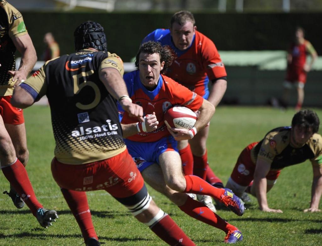 Julien Langlade et les siens sont passés tout près d'une victoire contre Castanet. (Photo Jean-Louis Tastet)