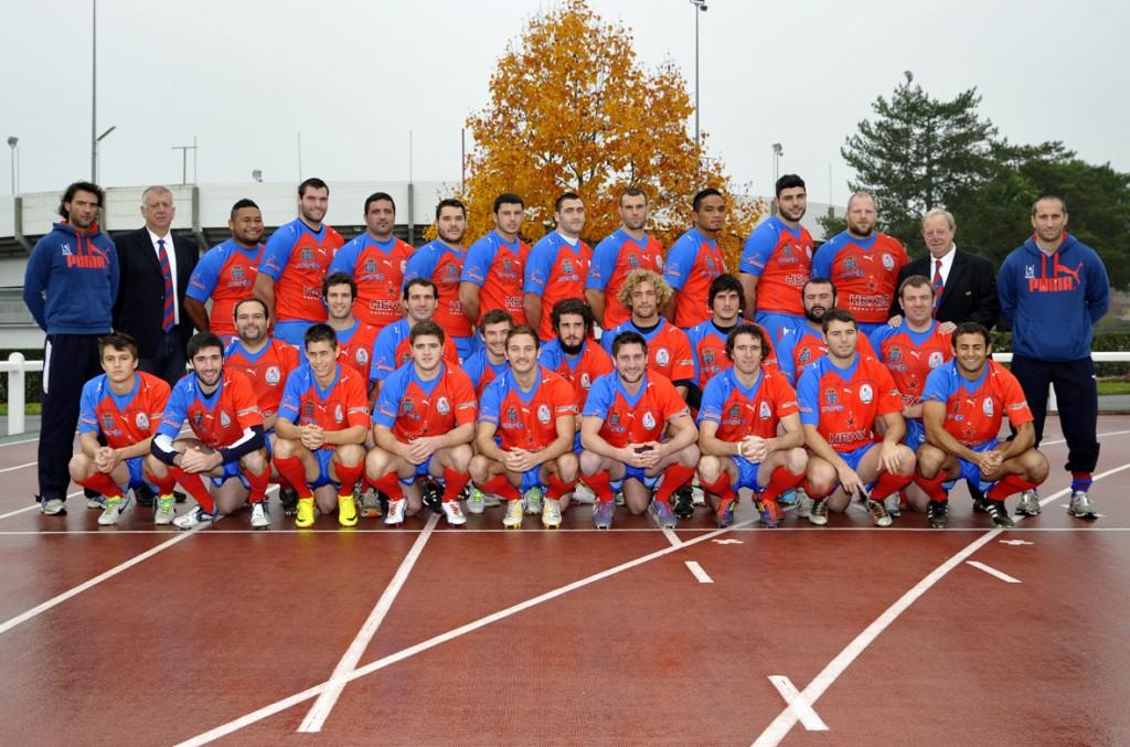 9. Avant le dernier match de la phase aller face à Valence-d'Agen, l'heure est venue de faire la photo officielle.