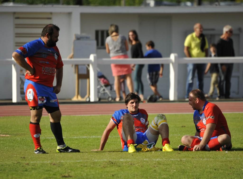 Début de saison compliqué pour les Rouge et Bleu. (Photo Jean-Louis Tastet)